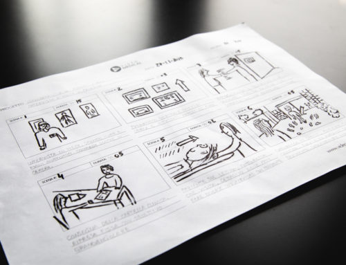 COME PROGETTARE IL TUO VIDEO MEDICO – LA STORYBOARD